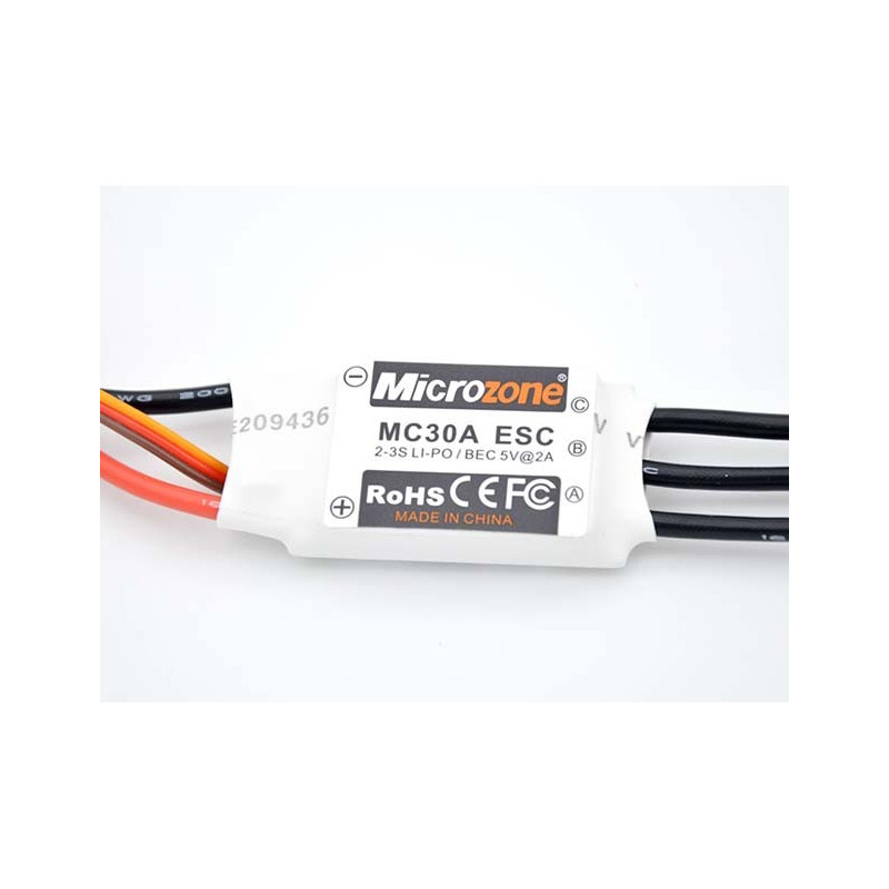 MC 30A ESC- 2-3S LIPO