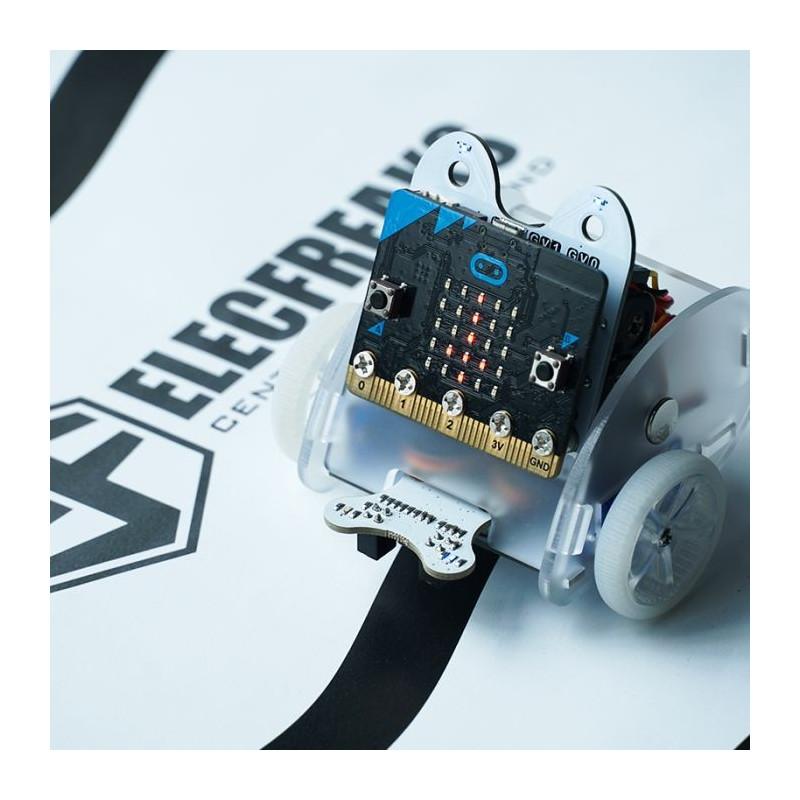 Accesorios de coche (Sonda: bit, Módulo de seguimiento y barra de luces LED)