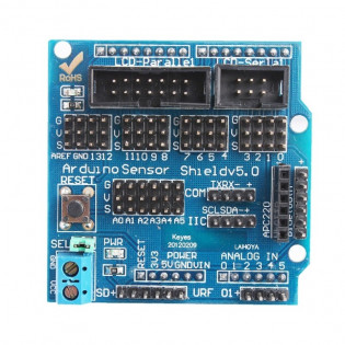 Shield v5.0 sensor expansion board