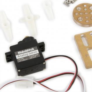 9G Micro Servo Robot (Metal Gear) Pack Makeblock