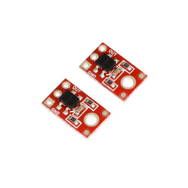 Sensor de linea (QTR-1RC) Digital (x2)